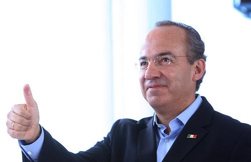 Mexican President Felipe Calderón hosted the Rio Group meeting in Cancún