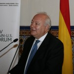 Spanish Foreign Minister Miguel Ángel Moratinos