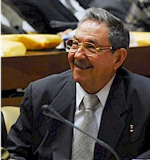 Cuban head of state Raúl Castro