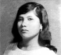 Aleida Gallango's mother Carmen, before her arrest.