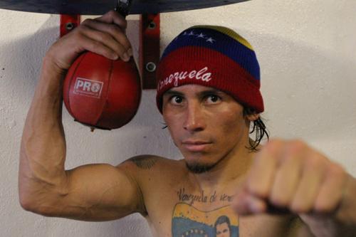 Venezuelan boxer Edwin Valero.