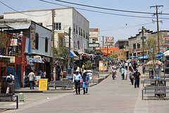 Street scene, Ciudad Juárez, Mexico.