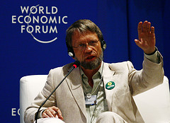 Colombian presidential candidate Antanas Mockus.