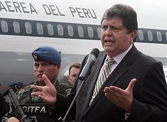 Peruvian President Alán García.