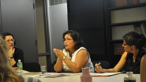 Vice President of AIDESEP Daisy Zapata spoke at New York Univeristy in May.