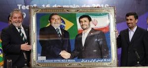 Brazilian President Luiz Inácio Lula da Silva met with Iranian President Mahmoud Ahmadinejad on Sunday.