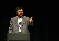 Iranian President Mahmoud Amadinejad.