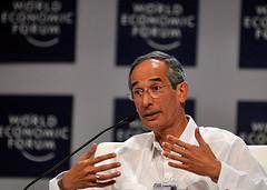 Guatemalan President Álvaro Colom.