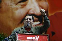 Venezuelan President Hugo Chavéz.