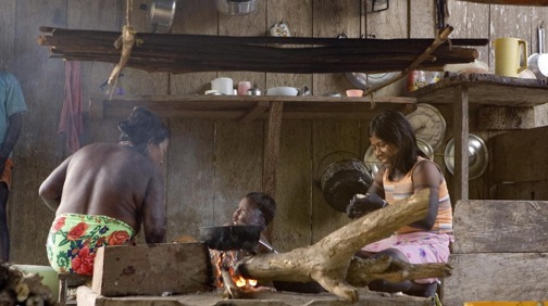 Internally Displaced Indigenous People in Riosucio, Colombia. Photo by Mark Garten.