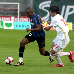 Cameroon's Samuel Eto'o on Inter Milan. Photo by Steindy @ Wikicommons.