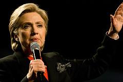 Secretary of State Hillary Clinton.