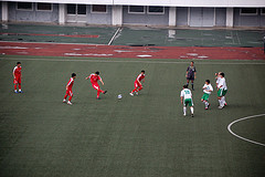 Korea DPR against Turkmenistan. Photo by (stephan) @ Flickr.
