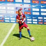 Spain's David Villa now on FC Barcelona. Photo by Oemar @ Wikicommons.