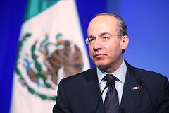 Mexican President Felipe Calderón.