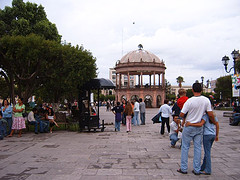 The city of Gómez Palacios, Mexico.