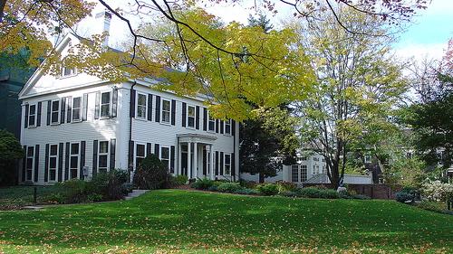 Walter Lippman House, seat of the Nieman Foundation at Harvard University.