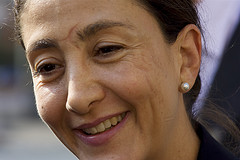 Former hostage and Colombian politician Ingrid Betancourt.