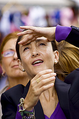Former FARC hostage and Colombian politician Ingrid Betancourt.