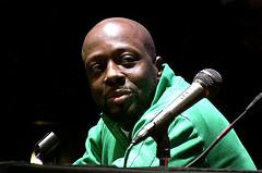 Haitian-American hip hop artist Wyclef Jean.