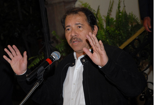 Nicaraguan President Daniel Ortega is in New York City for the United Nations General Assembly