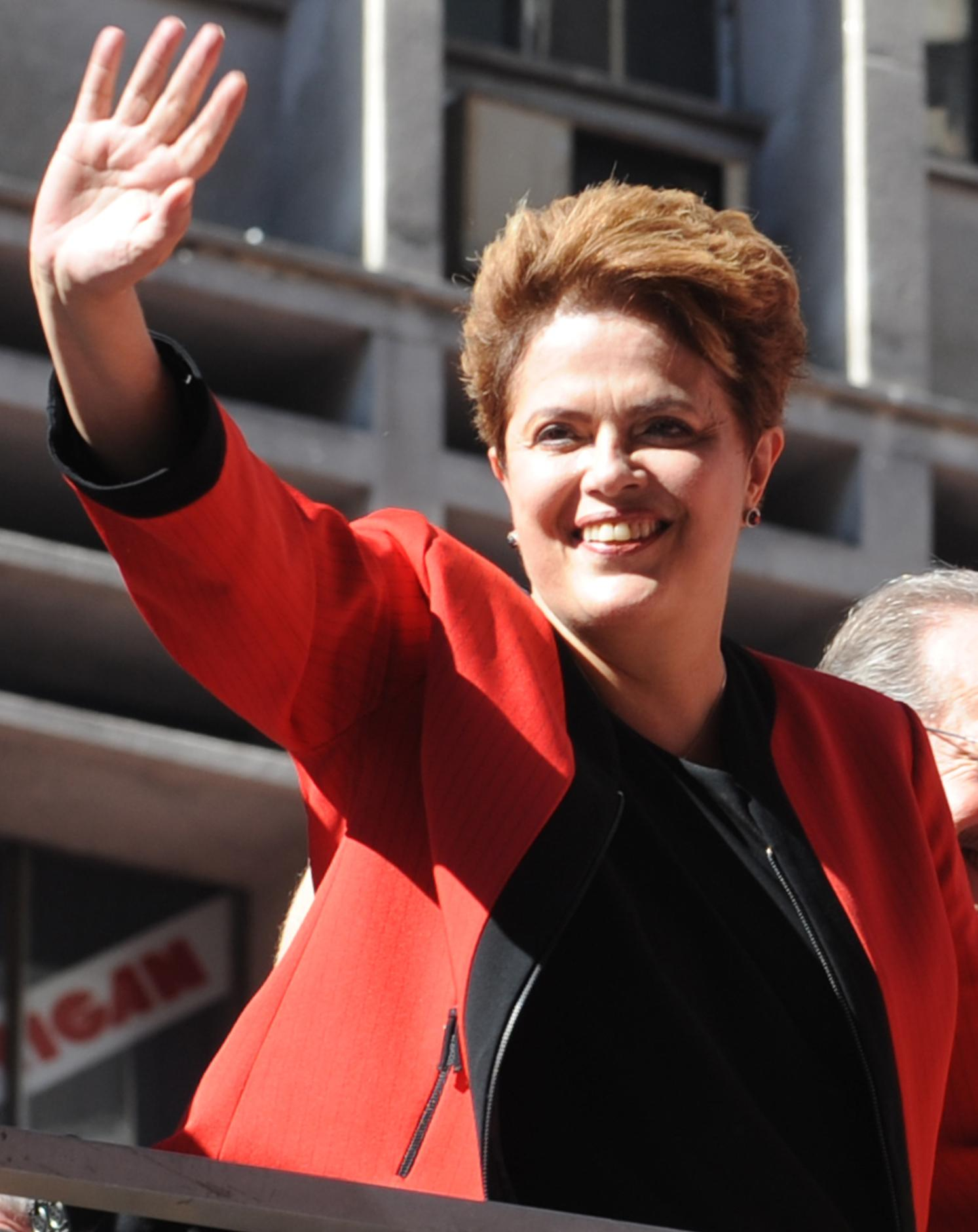 Brazil's President-Elect Dilma Rousseff