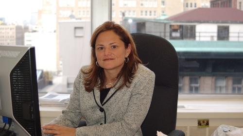 New York City Coucilwoman Melissa Mark-Viverito.