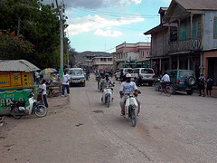 The Haitian town of St. Marc in 2004.