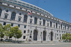 The California Supreme Court building.