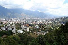 A view of Caracas, Venezuela