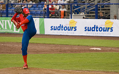 Cuban pitcher Norge Luis Vera.
