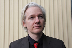 Julian Assange of WikiLeaks.