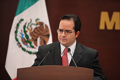 National security spokesman of Mexico, Alejandro Poiré.