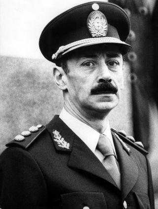 Former junta leader Jorge Videla.