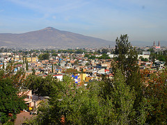 Morelia, the capital city of the Mexican state of Michoacán.