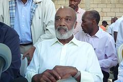 Current Haitian President René Préval