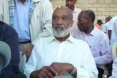 Haitian President René Préval.