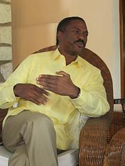 Haitian presidential candidate Jude Célestin.