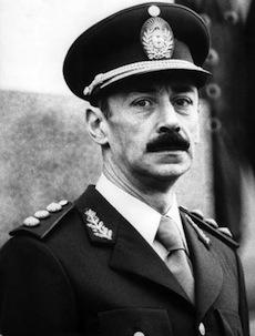 Former Argentine head of state Jorge Videla.