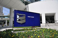 Chevron's corporate offices in Houston, Texas.
