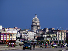 A view of Havana, Cuba