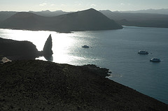 Pinacle Rock on the Galapagos Island