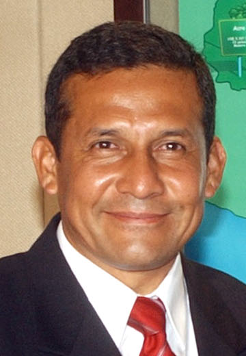 Peruvian Presidential Candidate Ollanta_Humala. Photo by José Cruz.