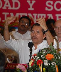 Nicaraguan President Daniel Ortega. Photo by Presidencia de la República del Ecuador