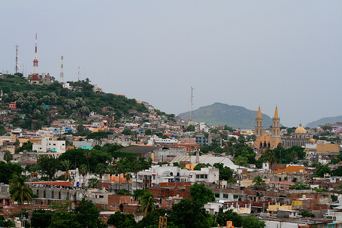 The city of Mazatlán in the Sinaloa state of Mexico. Photo by ccharmon.