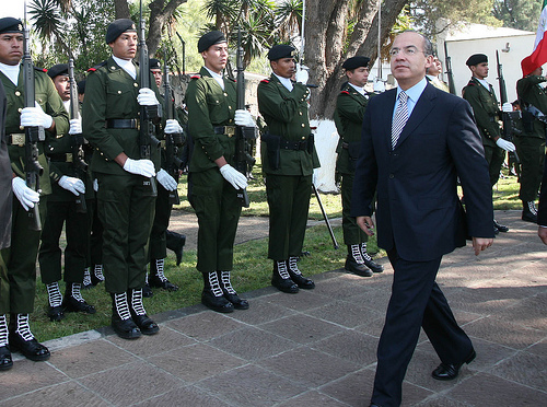 Mexican President Felipe Calderón. Photo by Gobierno Federal.