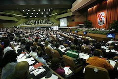 The Cuban Communist Party Congress met on Saturday.