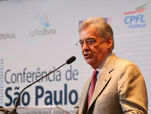 Fernando Henrique Cardoso, former Brazilian president. Photo by CPFL Cultura.