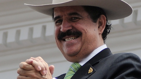 Ousted Honduran President Manuel Zelaya.
