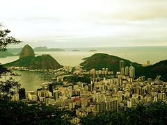 The city of Rio de Janeiro, Brazil.